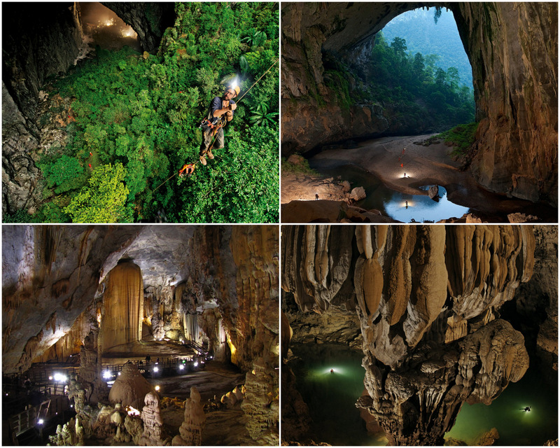 Son Doong in Vietnam - one of the world's largest caves