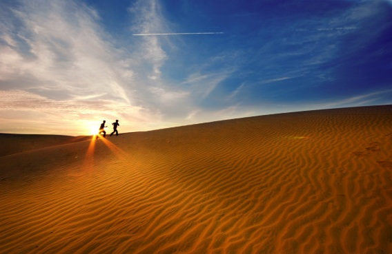 Mui ne Sand Dunes - Vietnam visa for UK information