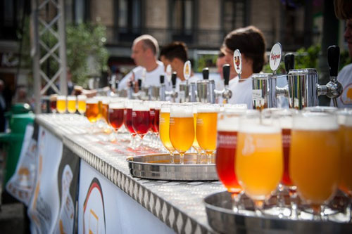 belgia beer festival talking place in Ho Chi Minh City - Vietnam Visa