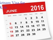 Vietnam visa for UK citizens in June 2016