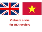 Vietnam e-visa for UK passport holders